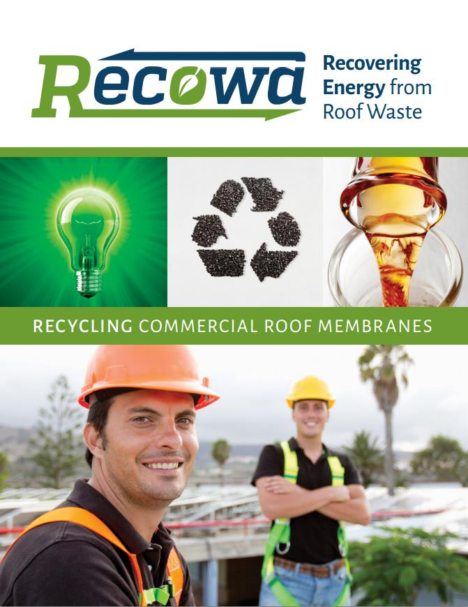 Recowa Roof Waste Removal Brochure