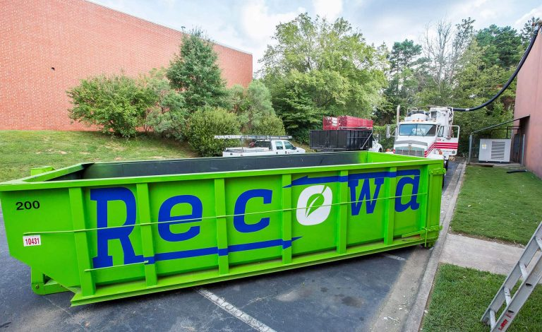 Recowa Roof Waste Removal Container
