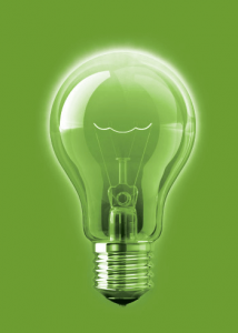 Recowa Green Light Bulb