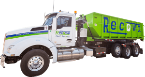 Recowa Roof Waste Removal Truck